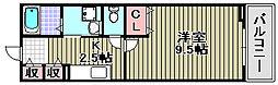 ハナミズキ[2階]の間取り