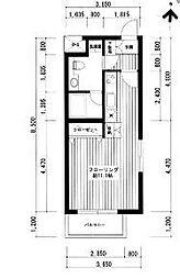 広尾レジデンスA棟[3階]の間取り