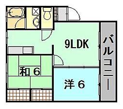 サンシャイン大久保ビル[1階]の間取り