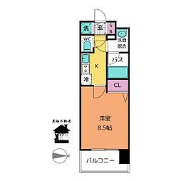 コンフォリア新栄[13階]の間取り