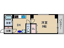 メゾンドバランシヤ[2階]の間取り