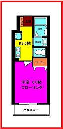 東京都足立区古千谷本町2丁目の賃貸アパートの間取り