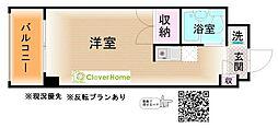 神奈川県海老名市社家の賃貸アパートの間取り