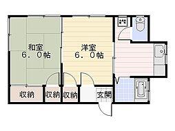 [一戸建] 神奈川県横須賀市池上3丁目 の賃貸【/】の間取り