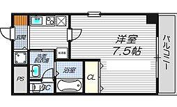 ルミエール新大阪[2階]の間取り