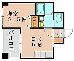 レージュ千代[8階]の間取り