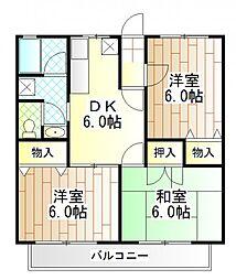 MILDHOUSE[2階]の間取り
