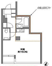 東京都港区東麻布1丁目の賃貸マンションの間取り