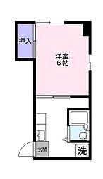 平井ビル[207号室]の間取り