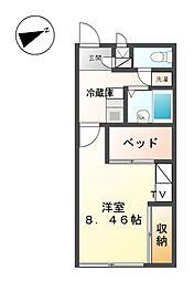 滝ノ水[2階]の間取り
