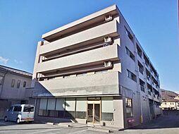 山梨県笛吹市石和町市部の賃貸マンションの外観