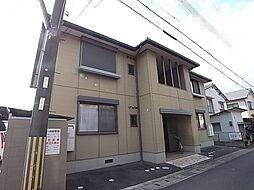 兵庫県姫路市勝原区朝日谷の賃貸アパートの外観