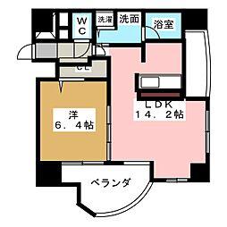 プロシード金山2[12階]の間取り