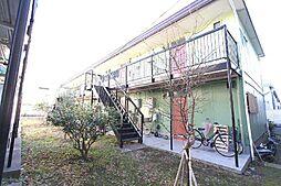 埼玉県蕨市錦町の賃貸アパートの外観