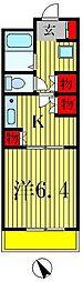 カステリオーネ[2階]の間取り