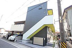 愛知県名古屋市中川区荒子4丁目の賃貸アパートの外観