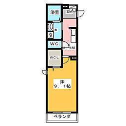 (仮)ベレオ竹橋[3階]の間取り