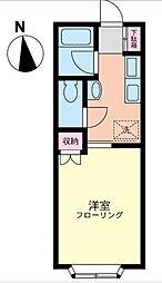 湘南ガーデンハウス[2階]の間取り