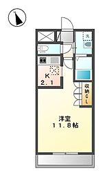 クリンピア[2階]の間取り