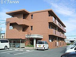 三重県松阪市鎌田町の賃貸マンションの外観