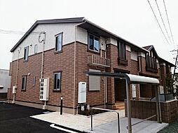 兵庫県加古郡稲美町六分一蒲ノ上の賃貸アパートの外観