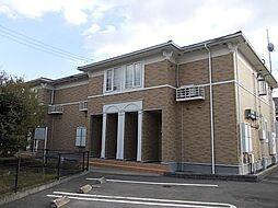 岡山県井原市西江原町の賃貸アパートの外観