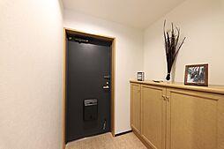 シューズボックスの玄関すっきりした玄関でお客様をお迎えできますね