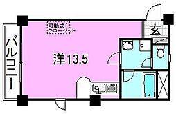 ベルハイム38[402 号室号室]の間取り