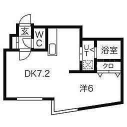 M-STAGE 豊平公園[2階]の間取り