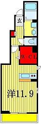 メゾン アルモニ−A[1階]の間取り