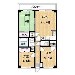 iマンション[3階]の間取り