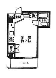 東京都品川区東品川3の賃貸マンションの間取り