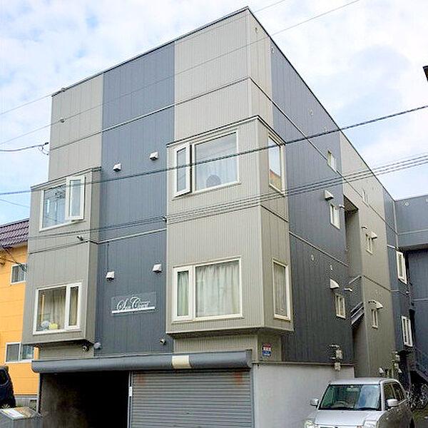 サンコート新札幌[3階]の外観
