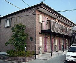 京都府京都市右京区谷口園町の賃貸アパートの外観