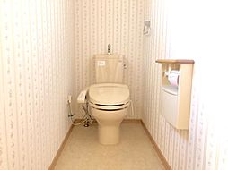 トイレも大変綺麗にお使いです