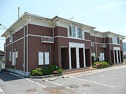 和歌山県伊都郡かつらぎ町大字笠田中の賃貸アパートの外観