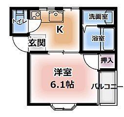 ヴァンベール二番館[3階]の間取り