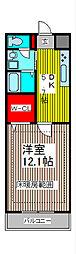 SUNRIZE・大褄[305号室]の間取り