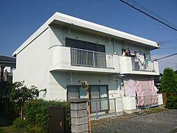 東京都あきる野市瀬戸岡の賃貸マンションの外観