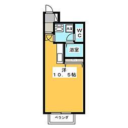 フィアス小網[1階]の間取り