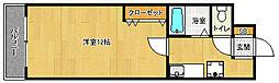 京都府宇治市小倉町西浦の賃貸マンションの間取り