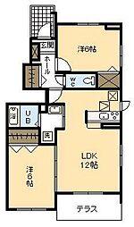 サンシャインレジデンス A棟[A101号室]の間取り