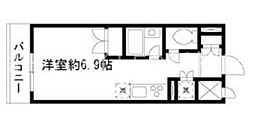 東京都中央区勝どき4丁目の賃貸マンションの間取り
