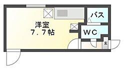 グランディール覚王山[3階]の間取り