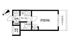 ワコーレ町田[0206号室]の間取り