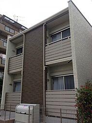 神奈川県川崎市幸区小倉4丁目の賃貸アパートの外観