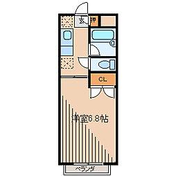 エルミライフ7[2階]の間取り