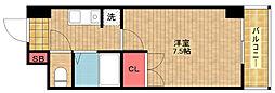 セジュール24[5階]の間取り