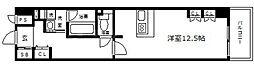 天満リバーサイドプラザ[4階]の間取り