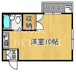 ハイツMATSUNAMI[103号室号室]の間取り